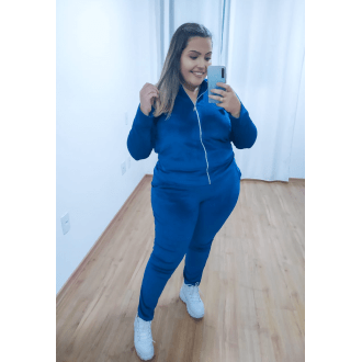 Conjunto Plus Size Plush